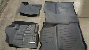 Weather tech floor matts out of 2010 GMC crew cab Kingston Kingston Area image 1