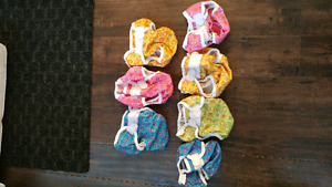 Cloth diaper covers Medium and Large
