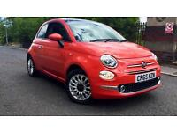 2016 Fiat 500 1.2 Lounge 3dr Manual Petrol Hatchback
