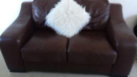 Lovely Modern Italian real leather sofa