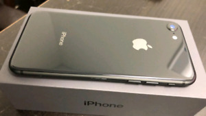 iPhone 8 64GB Space Grey - Brand new, all accessories