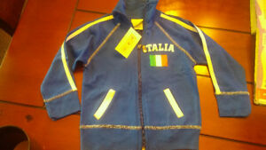 Italy Italia jacket long sleeve kids brand new boy girl size 3