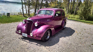 37 CHEV 2DR SEDAN CERTIFIED / TRADE 4 HOT  ROD COUPE