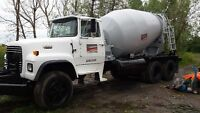 READY MIX CONCRETE DELIVERY & LINE PUMPING