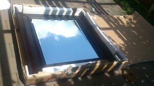 wood mirror  new  still in the box size 48 w x 44 London Ontario image 7