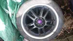 "17"" rims 4 x 100 Rims and tires Cambridge Kitchener Area image 1"
