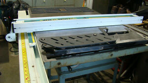 """10"""" KING - made in Canada - TABLE/BENCH SAW"""