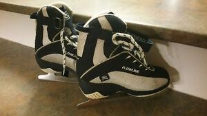 Patins artistique / figure skates, Flowline, taille/size 12.5