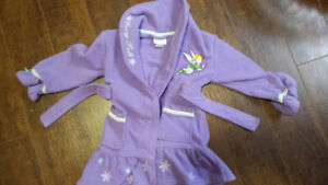 tinkerbell housecoat 2t