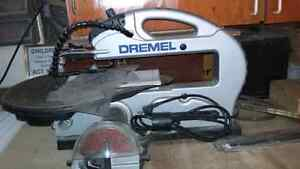 Dremel scroll saw used once
