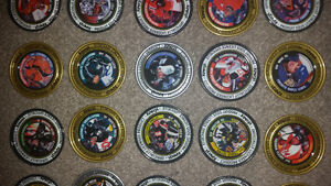 Old RARE vintage metal hockey pogs all in excellent condition!!! London Ontario image 2