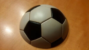 Hard half soccer ball wall fixture - Great for kids' rooms!!