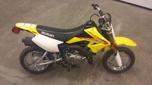 2014 Suzuki DRZ70 (Electric Start)