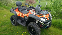 **$35 PER WEEK**  800cc V-Twin, 2-UP ATV with POWER STEERING!!