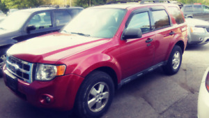 2009 Ford Escape XLT $6950 certified