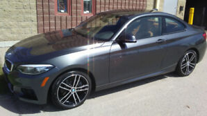 2018 BMW 230 X-DRIVE M-SPORT WINTER TIRES ON BMW RIMS INCLUDED!