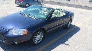 2003 Chrysler Sebring limited Convertible