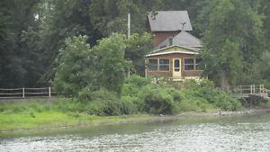 À louer sem,-f.de sem-mois aux îles de Sorel  Lac St-Pierre