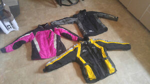 Choko jackets and pants also The North Face and CKX jacket