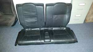 Banquette cuir noir Acura Type S/ rear seat black leather acura