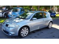 2006 56 RENAULT MEGANE SPORT 225 ++FULL SERVICE++LEATHER SEATS++CAMBELT REPLACED++2 KEYS++