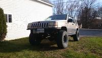 1994 Jeep Grand Cherokee, Lifted