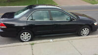 2002 Honda Accord SE Sedan (Fast Sale, Negotiable)