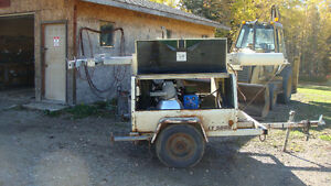 8 kilowatt generator,Brand new engine and generator,135.7 hours Edmonton Edmonton Area image 1