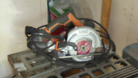 Ridgid saw for metal wood cement