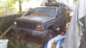 1998 Jeep Cherokee with AX-15 manual transmission!!