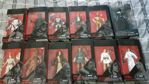 Star Wars Black Series Action Figures 6inch FOR SALE/TRADE!