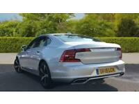 2018 Volvo S90 D4 R-DESIGN AUTOMATIC (Winter Pack) Saloon Diesel Automatic