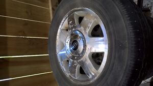 aluminum rims and tires from kia sedona 215/70R15
