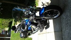 Yamaha Road Star 950 Touring - beautiful blue colour, low KMs