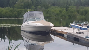 2001 sea ray sundeck 240 set up for fishing