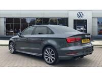 2018 Audi A3 2.0 TDI Black Edition 4dr S Tronic [7 Speed] Diesel Saloon Auto Sal