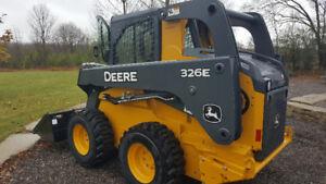 2016 John Deere 326E Skid Steer