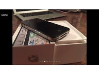 Apple iPhone 4S 16gb Black Good Condition - On EE Virgin T Mobile - Fully Working 4 5 5s