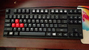 CoolerMaster Storm mechanical keyboard Cherry MX Red switches