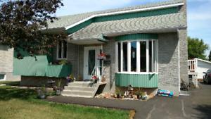 Maison a vendre a St Bruno au Lac St Jean