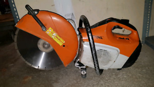 "14"" Stihl TS420 Concrete Saw"