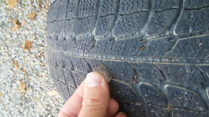 4 Michelin 175/65r14 Winter Tires Kitchener / Waterloo Kitchener Area image 2