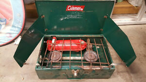 3 Portable Campstoves (one naphtha fuel, two propane) Edmonton Edmonton Area image 1