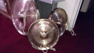 Dream gongs. Tuned set. Nice and heavy