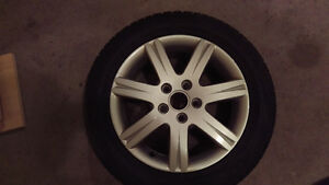 """16"""" VW/Audi Rims and Tires"""