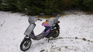 want a 50cc scooter