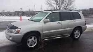 2005 Toyota Highlander Limited edition SUV, Crossover