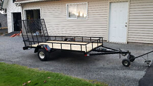 Scott Built 5'x10' SideXSide or ATV Utility Trailer
