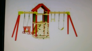 Outdoor Play Fort Play Centre, climbing frame, swing (Bargain!) Graceville Brisbane South West Preview