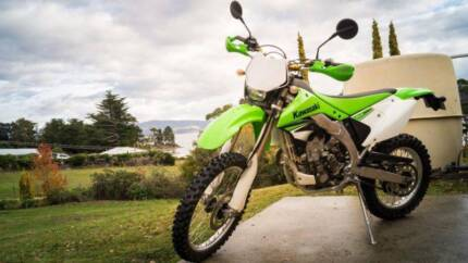 2008 Kawasaki KLX450R Cygnet Huon Valley Preview